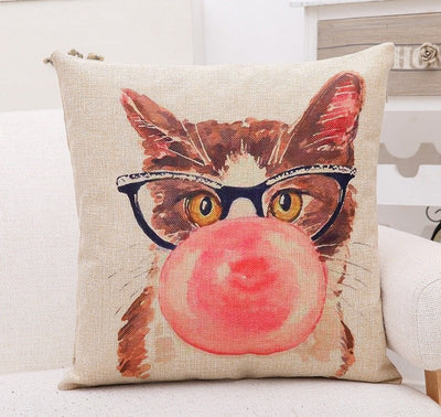 Adorable Cat Pillow Covers