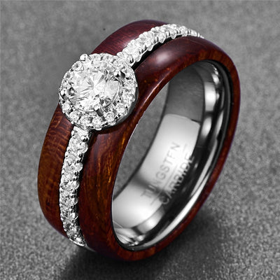 Exquisite Hawaiian Koa Ring