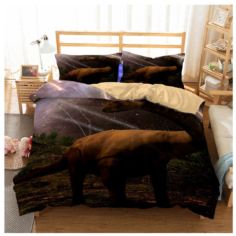 Stylish Dinosaur Lovers Bedding Set