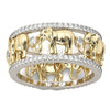 3D Antique Elephant Ring