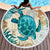 Sea Turtle And Whale Beach Towel