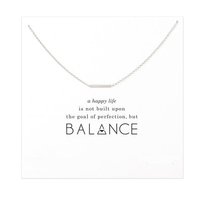 Stay Balanced Necklace