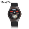 Skull Unique Wooden Watch