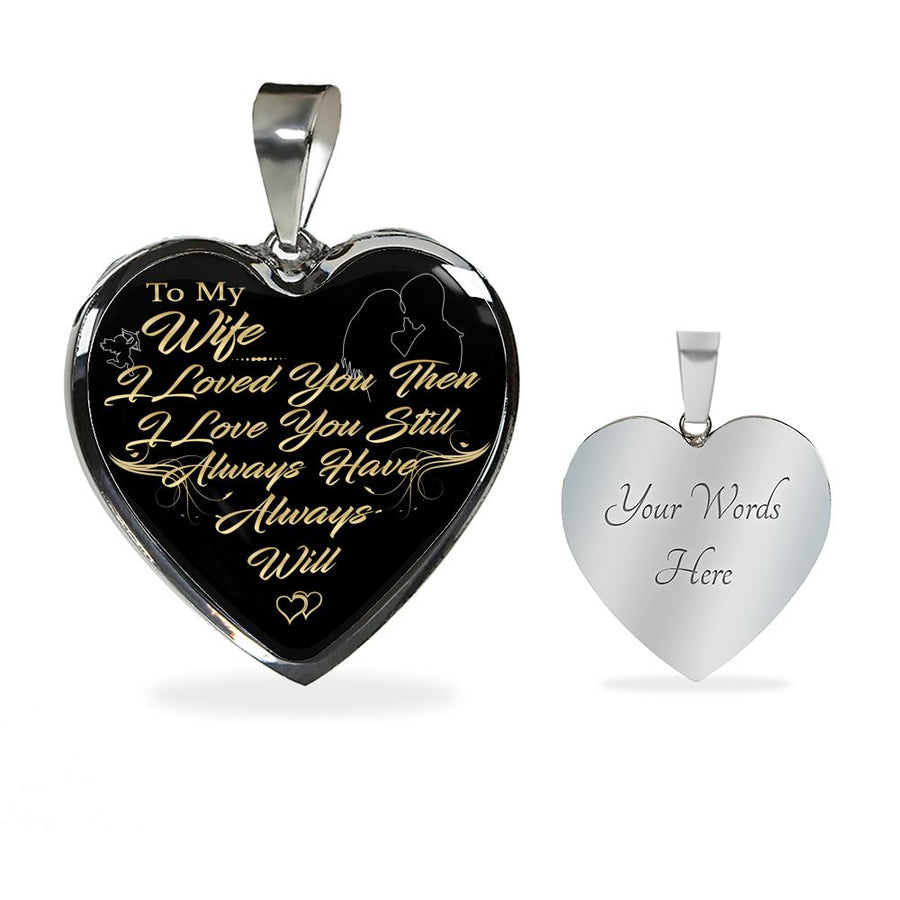 Always Will Heart Pendant