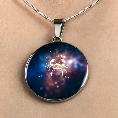 Cancer Constellation Pendant Necklace