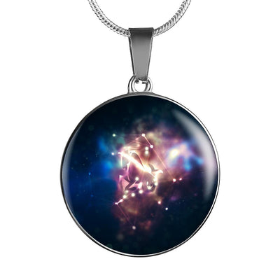 Capricorn Constellation Pendant Necklace