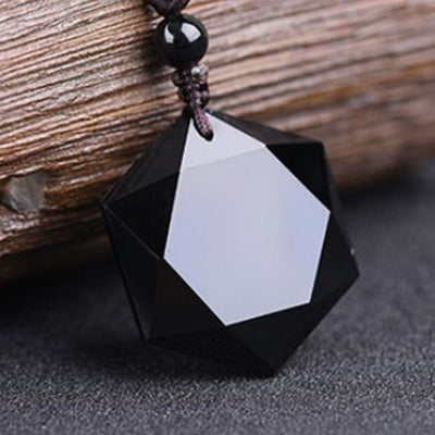 Powerful Black Obsidian Talisman