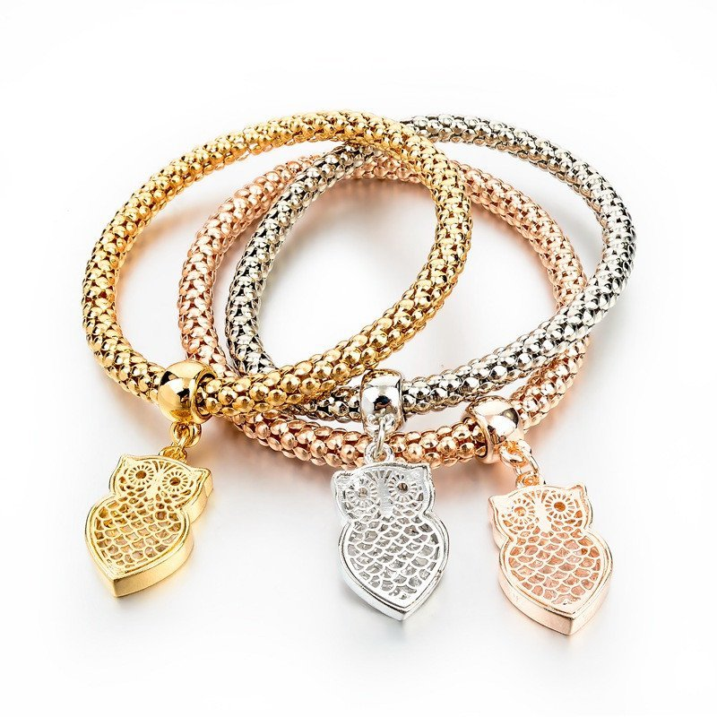 3 Piece Bracelet Bangle Sets