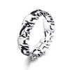 Elephant Silver Family Finger Ring