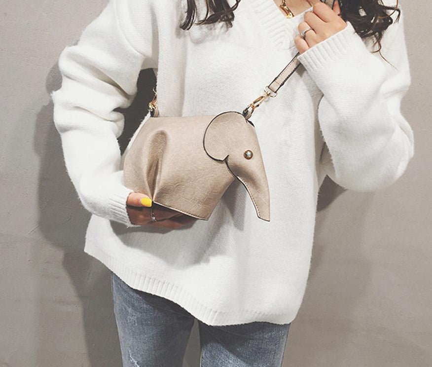 Elephant Purse - Elephant Shaped Handbag