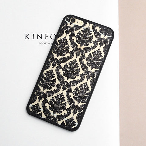 IPhone Case - Luxury Flower Pattern - IPhone 6 And 6s Phone Case