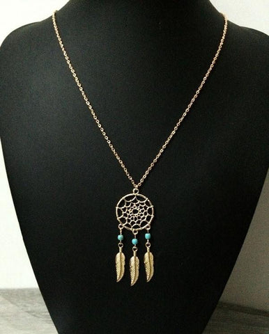 Necklace - Dream Catcher Pendant Necklace