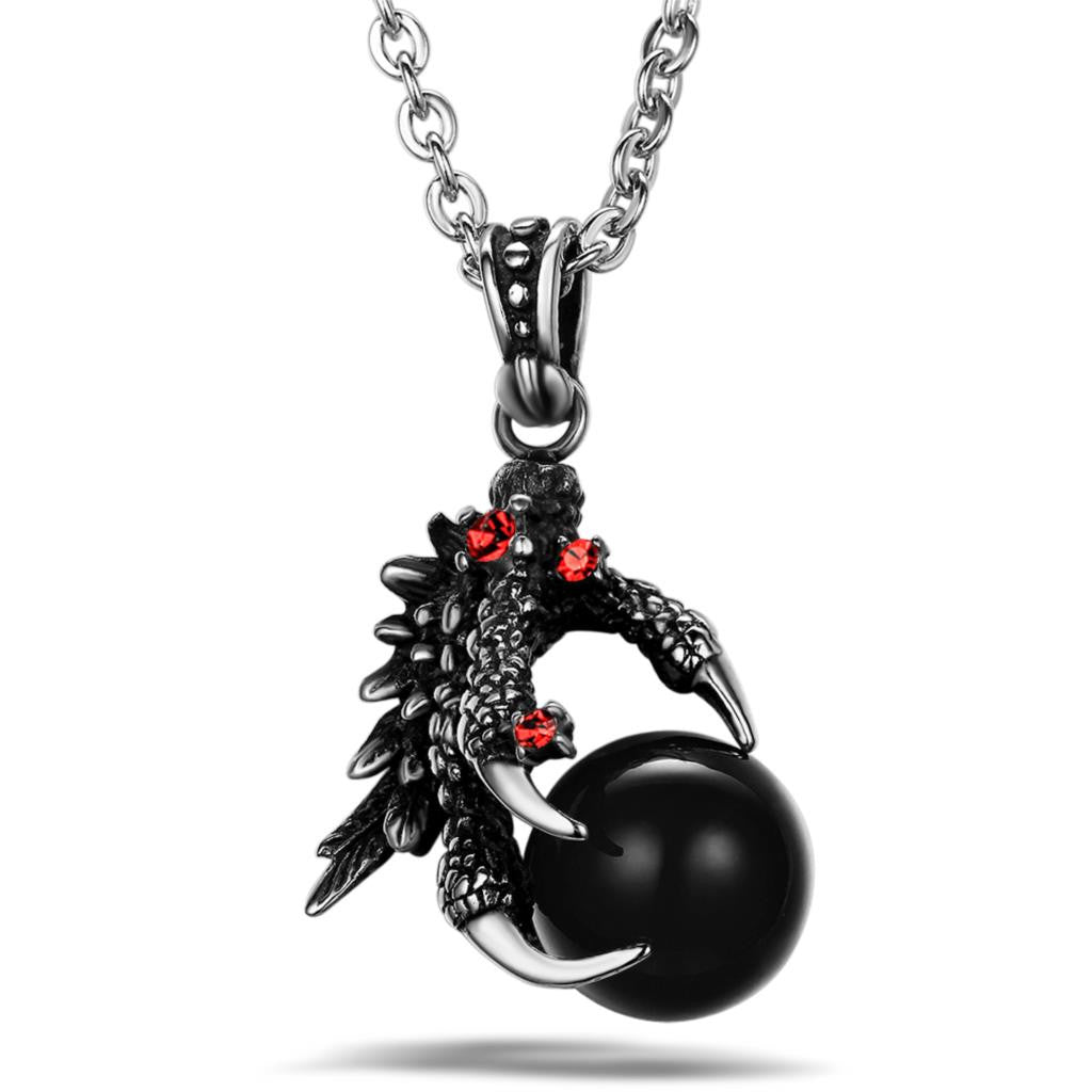 Stainless Steel Dragon / Scorpion Pendant Necklace