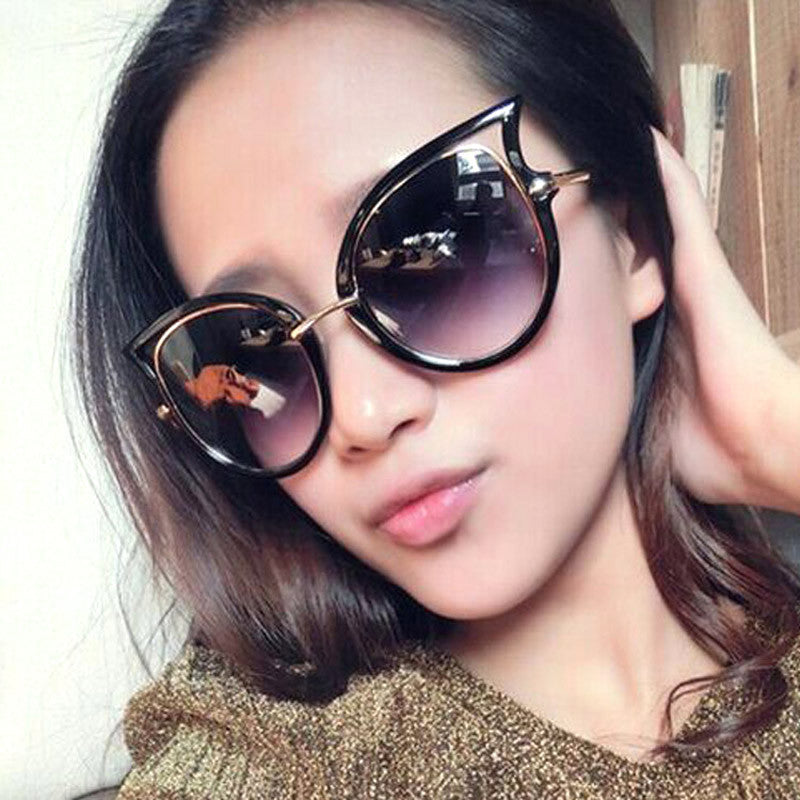 Cute Retro Cat Eye Sunglasses