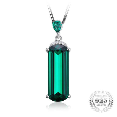Green Russian Nano Emerald Pendant (4.4ct)