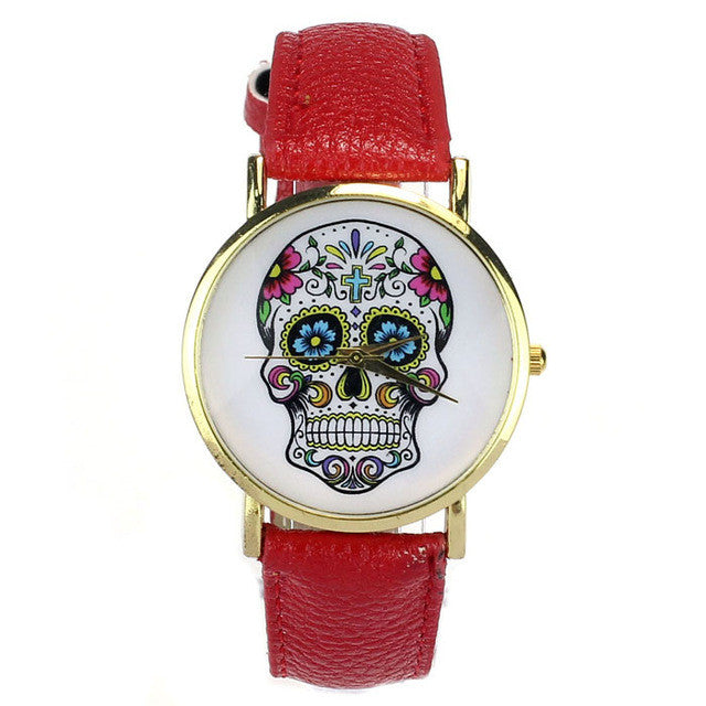 Sugar Skull Quartz Watch