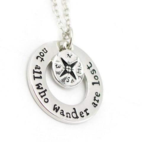 Wanderlust Travelers Necklace