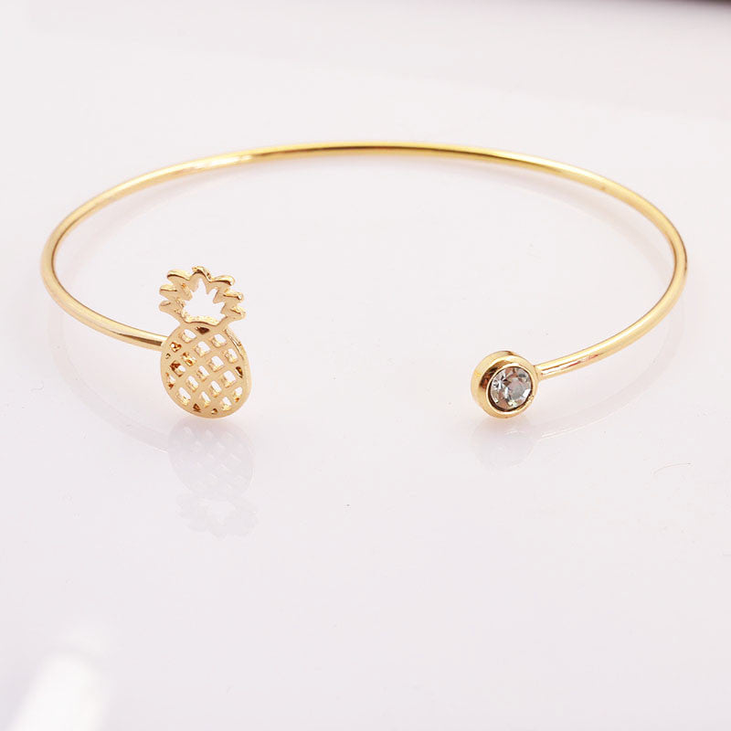 Pineapple Cuff Bangle