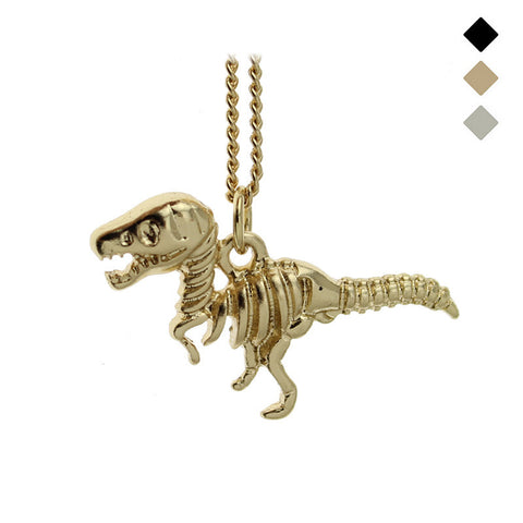 Dinosaur T-Rex Skeleton Necklace