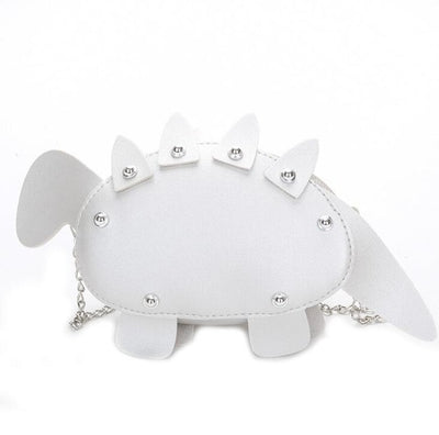 Mini Stegosaurus Purse - Dinosaur Shaped Purse