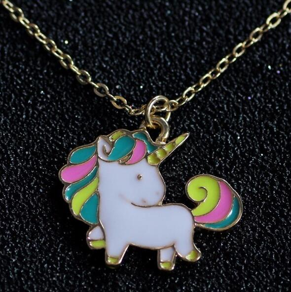 Unicorn Metal Necklace