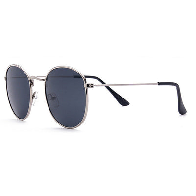 Vintage Round Mirrored Sunglasses