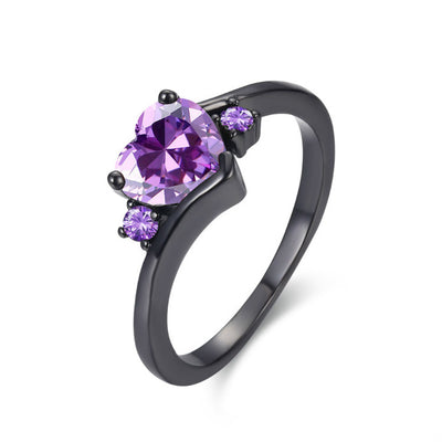 Heart Gothic Ring