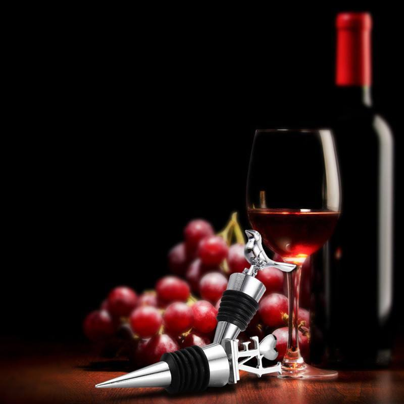 Wine Stopper - LOVE Stainless Steel Wine Bottle Stopper