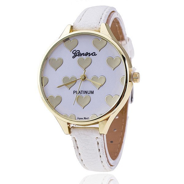Casual Love Heart Quartz Watch