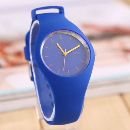 Women's Watch - Geneva Movement Silicone Candy Color Watch