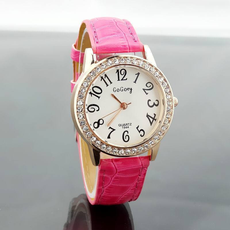 Luxury Crystal Rhinestone Quartz Watch