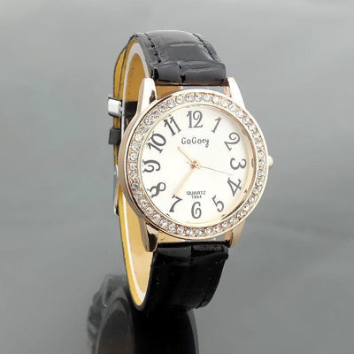 Women's Watch - Luxury Crystal Rhinestone Quartz Watch