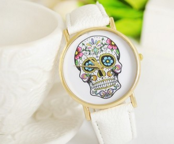 Funky Skull Wrist Watch