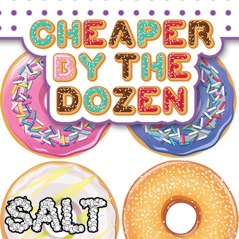 SALT | Cheaper by the Dozen
