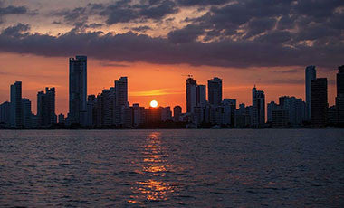 Best places to view the sunset in Cartagena