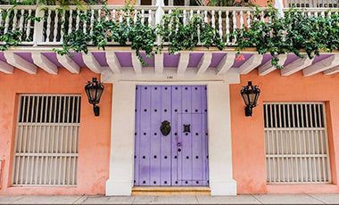 Most instagrammable doors in cartagena