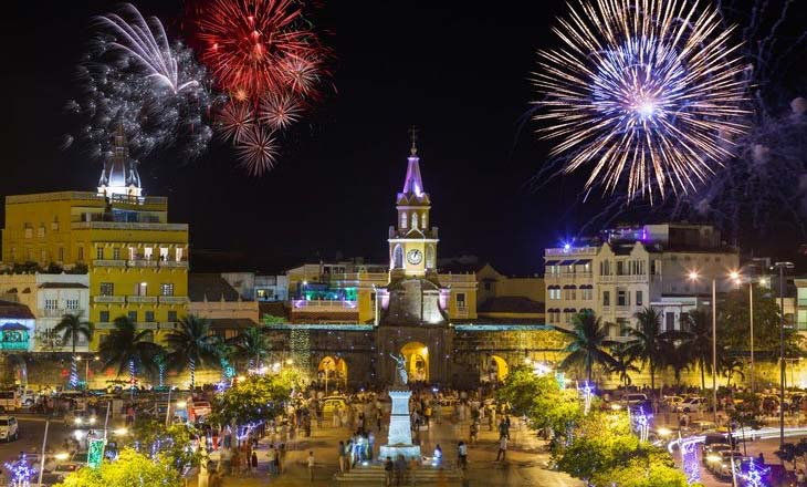 Things to do in Christmas and new year in Cartagena