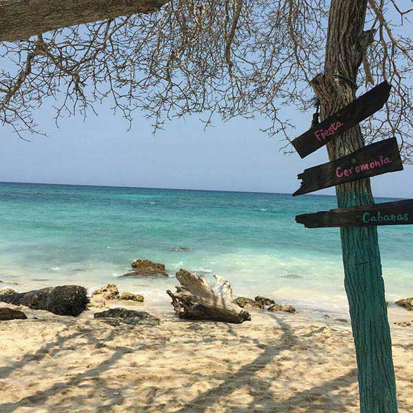 Playa Blanca in Baru: Shared transfer from Cartagena
