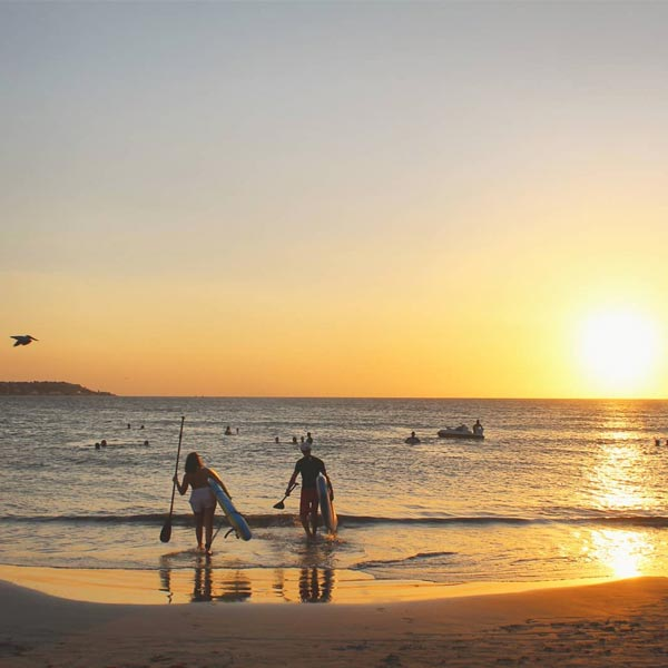 Stand-up Paddle at Sunset in Cartagena