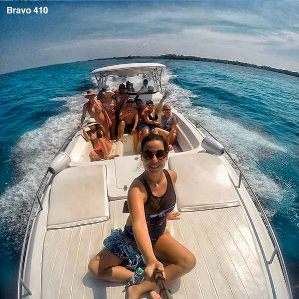 Private Boat Rental To Islas del Rosario