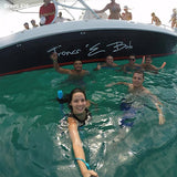 Private Boat Rental To Islas del Rosario - Juan Ballena-1
