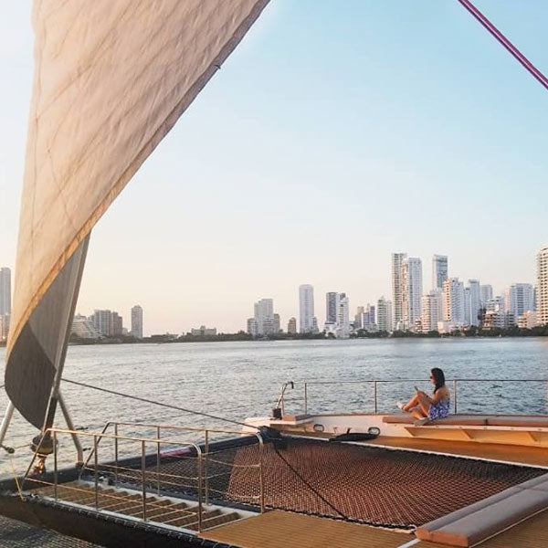 Cartagena bay sunset cruise by Catamaran