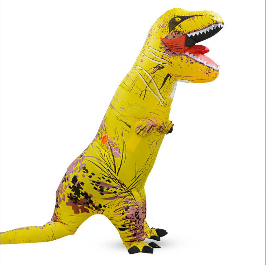 Inflatable T-Rex Dinosaur Stag Mascot Costume