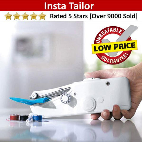 InstaTailor - Mini Portable Handheld Sewing Machine