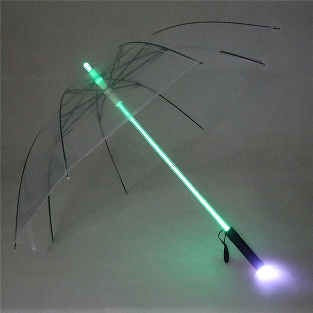 Catch the Star Wars Fever with the Lightsaber Umbrella