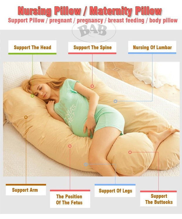 Cozy Pregnancy & Maternity Body Pillow