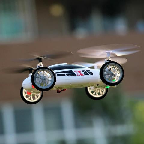 Flying RC Quadcopter Drone Car