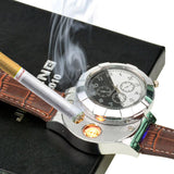 Rechargeable USB Lighter Electronic Watch