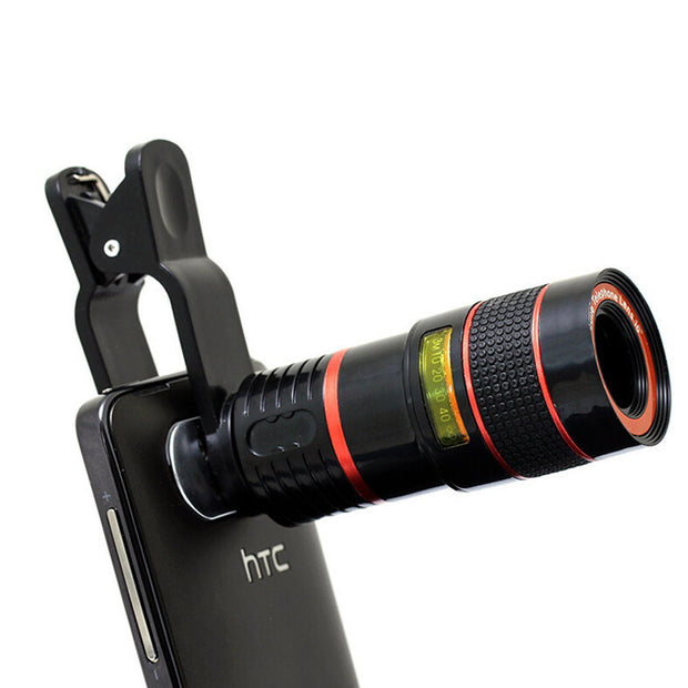 8X Zoom Mobile Phone Lens