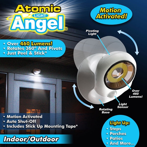 Atomic Angel Cordless Motion Activated LED Light
